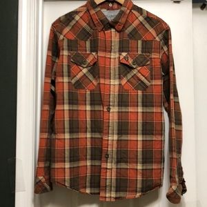 Heritage 1981 Checked Western Style Men's Shirt